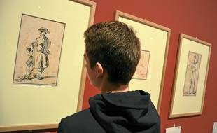 Des caricatures du peintre français sont notamment à découvrir.