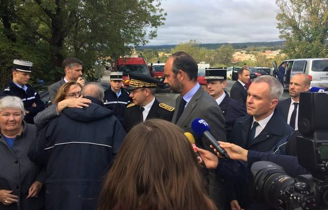 VIDEO. Inondations dans l'Aude: «L'événement météorologique avait été anticipé, pas son intensité», selon Edouard Philippe