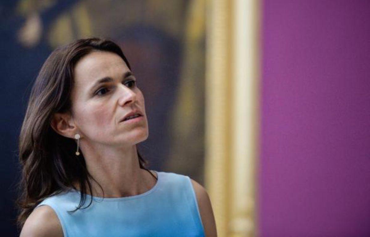 La ministre de la Culture Aurélie Filippetti le 11 juillet 2014 lors d'une visite à Rome – Andreas Solaro AFP
