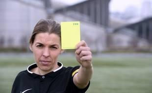 Stéphanie Frappart va arbitrer un match de L1 entre Amiens et Strasbourg.