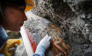 La fresque de Léda découverte à Pompéi est une représentation classique dans la culture gréco-romaine.