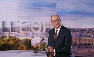 Le Premier ministre Jean Castex au JT de «20 Heures» sur TF1, le 3 juillet 2020.