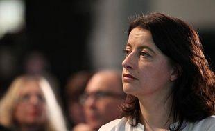 La ministre du Logement, Cécile Duflot (EELV) lors du congrès des Verts en novembre 2013.