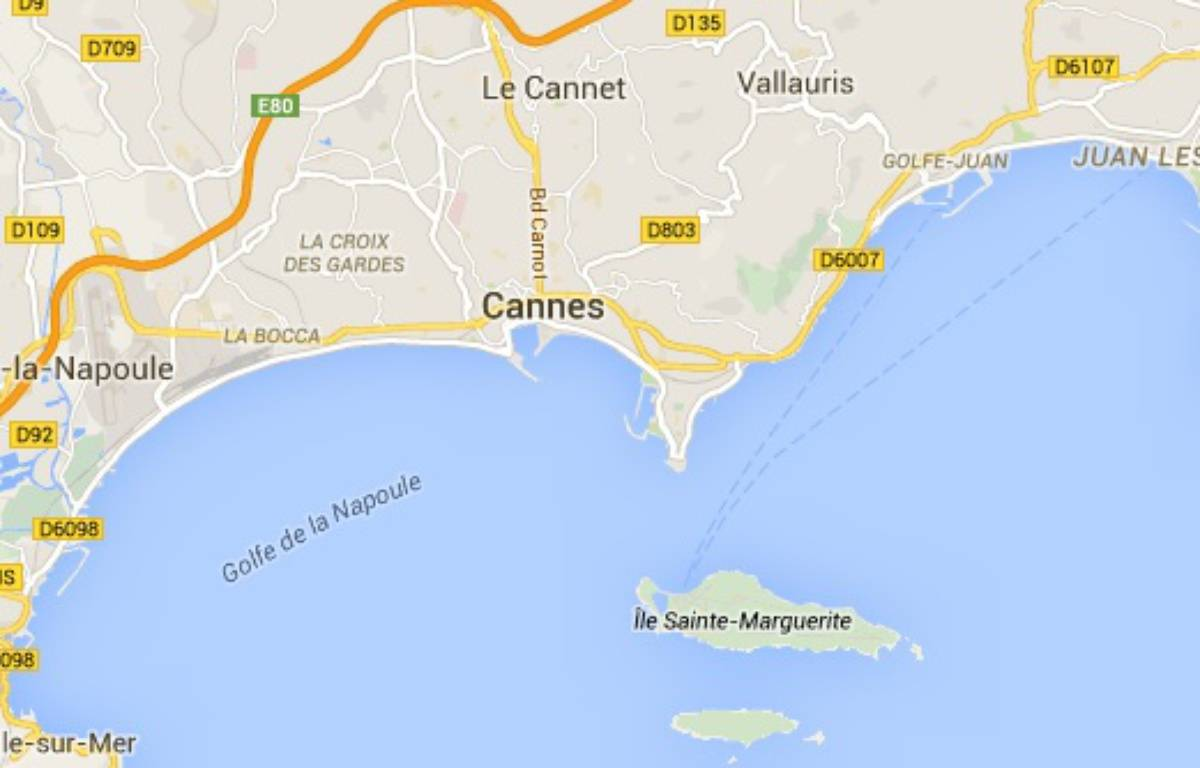 Carte de Cannes – Capture d'écran