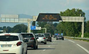 Une autoroute en France (photo d'illustration).
