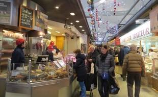 Le marché de Talensac à Nantes
