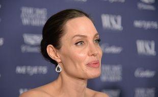 Angelina Jolie ne pèserait plus que 34 kilos (illustration)
