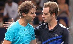 Gasquet soutient Nadal après les accusation de dopage prononcées contre l'Espagnol.
