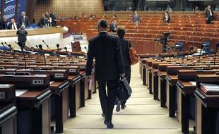 Le conseil de l'Europe, qui accueille les débats du Forum mondial de la démocratie.