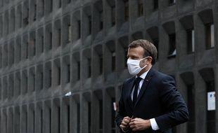 Emmanuel Macron s'est rendu mardi après-midi à Bobigny pour y présider une séance de la Cellule de lutte contre l'islamisme et le repli communautaire (CLIR) et faire le bilan des résultats en Seine-Saint-Denis.
