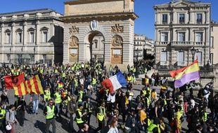 Montpellier est une place forte de la mobilisation des «gilets jaunes». (archives)