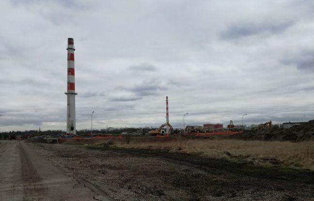 L'ancienne raffinerie de Reichstett est en pleine démolition. Il s'agit du plus grand chantier de dépollution de France.