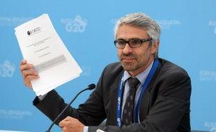 Pascal Saint-Amans, directeur des questions de fiscalité pour l'OCDE, le 4 septembre 2013 au sommet du G20 à Saint-Petersbourg