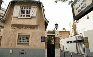 La villa Madrid, où Claude Dray a été retrouvé mort à Neuilly-sur-Seine, le 24 octobre 2011.