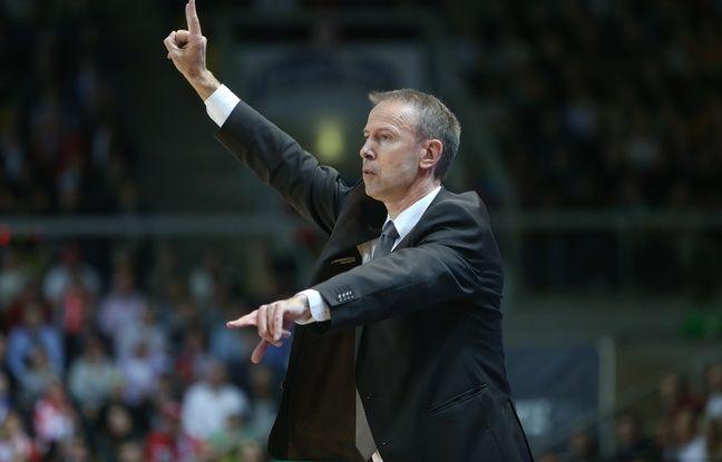 Le coach de la SIG Vincent Collet. (Archives)