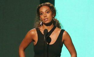 La chanteuse Solange Knowles