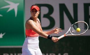 Alizé Cornet, à Roland-Garros.