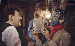 Albert Dupontel, Héloïse Balster et Nahuel Pérez Biscayart dans «Au revoir là-haut»