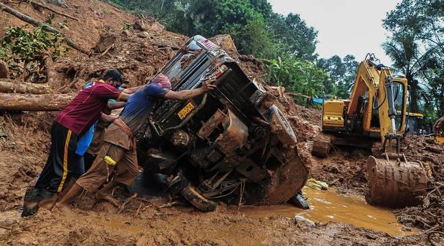 Inde : Au moins 25 morts dans des inondations et glissements de terrain