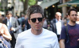 Le musicien Noel Gallagher dans les rues de Londres