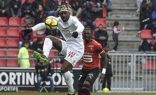 A l'image d'Allan Saint-Maximin, les Niçois ont été peu inspirés ce dimanche après-midi face à Rennes.