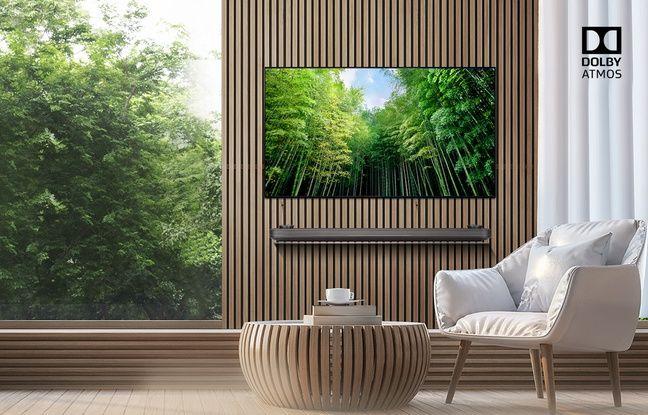 Le téléviseur OLED55C8 de LG est Dolby Vision.