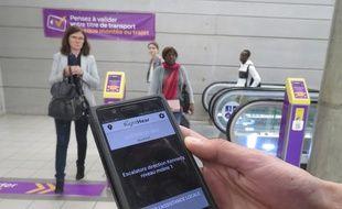L'application Right Hear doit permettre aux personnes aveugles ou malvoyantes de mieux s'orienter dans le métro à Rennes.
