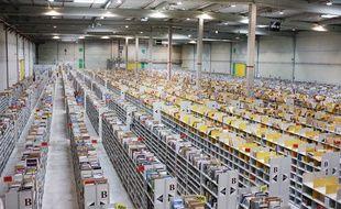 L'entrepôt Amazon à Saran (Loiret).