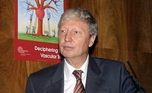 Le Français Jules Hoffmann, lauréat avec l'Amériain Bruce Beutler et le Canadien Ralph Steinman du prix Nobel de médecine 2011 (photo non datée).