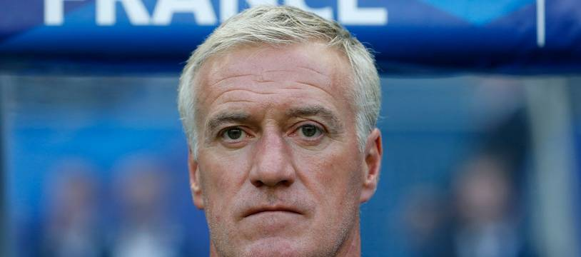 Didier Deschamps au Stade de France le 7 juin 2015.