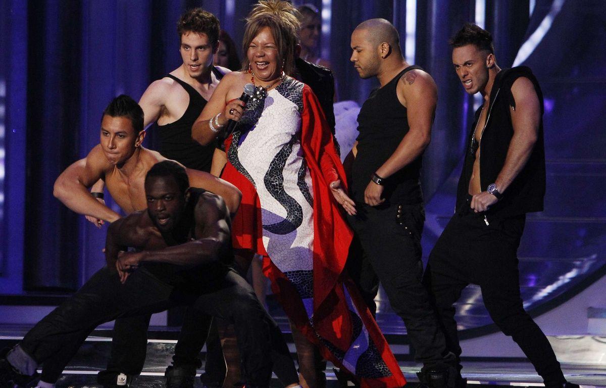Loalwa Braz en 2012 au Latin Billboard Awards. – Lynne Sladky/AP/SIPA
