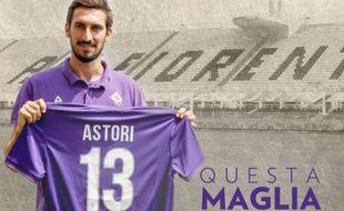 La Fiorentina retire le numéro 13 en hommage à Davide Astori.