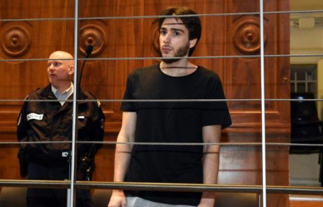 Anthony Draoui, le 1er février 2016 devant la cour d'assises d'appel du Gard à Nîmes
