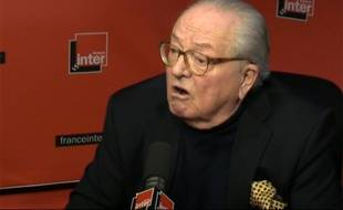 Jean-Marie Le Pen, le 17 mars sur France Inter.