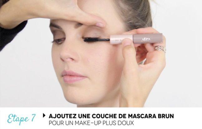 video tuto maquillage un make up pour les yeux bleus. Black Bedroom Furniture Sets. Home Design Ideas