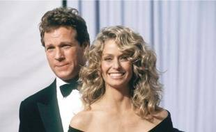 Ryan O'Neal et Farrah Fawcett.