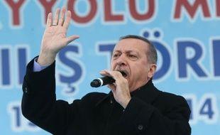 Le Premier ministre turc, Recep Tayyip Erdogan, le 12 mars 2014.