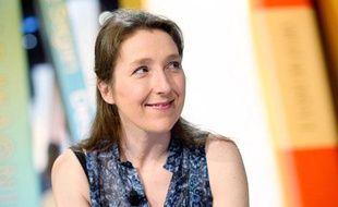 L'auteure Marie Darrieussecq le 10 octobre 2013