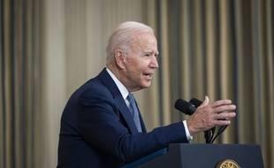 Le président américain Joe Biden à la Maison Blanche le 3 septembre 2021.