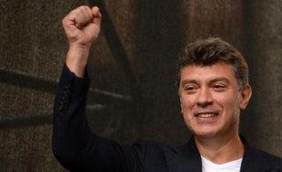 L'opposant russe Boris Nemstov le 15 septembre 2012