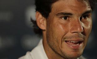 Rafael Nadal à Rio, le 15 février 2016.