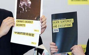 Le dernier rapport d'Amnesty International sur la peine de mort dans le monde