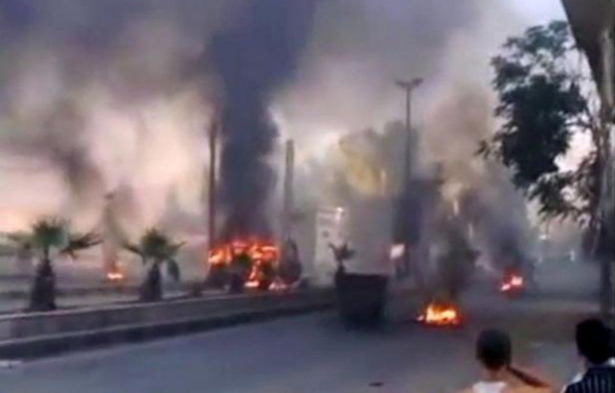 """L'armée syrienne a """"nettoyé"""" vendredi le quartier de Midane, près du centre de Damas, des combattants rebelles après de violents combats, a affirmé la télévision d'Etat. –  afp.com"""