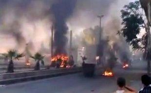 """L'armée syrienne a """"nettoyé"""" vendredi le quartier de Midane, près du centre de Damas, des combattants rebelles après de violents combats, a affirmé la télévision d'Etat."""