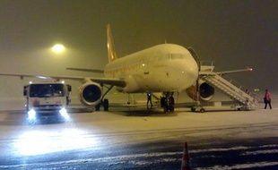 A l'aéroport Lyon Saint-Exupéry le 15 janvier 2013.