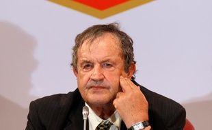 Fernand Duchaussoy, président de la Ligue de Football Amateur, et candidat à la tête de la Fédération, le 2 juillet 2010