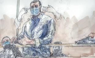 Ali Riza Polat est le seul accusé présent dans le box à être soupçonné de complicité de crimes.