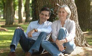 Penelope et François Fillon, le 19 mai 2007.