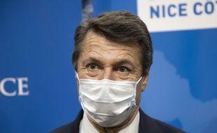 Le maire LR de Nice Christian Estrosi