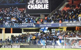 Le public du stade de la Mosson de Montpellier avant un match contre l'OM, le 9 janvier 2015.